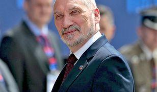 Macierewicz: manewry Zapad-2017 mają wybitnie agresywny charakter