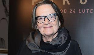 """Agnieszka Holland na konferencji prasowej filmu """"Pokot"""""""
