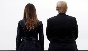 Ciekawa teoria spiskowa o 11 września. Ludzie widzą dowód na płaszczu Melanii Trump
