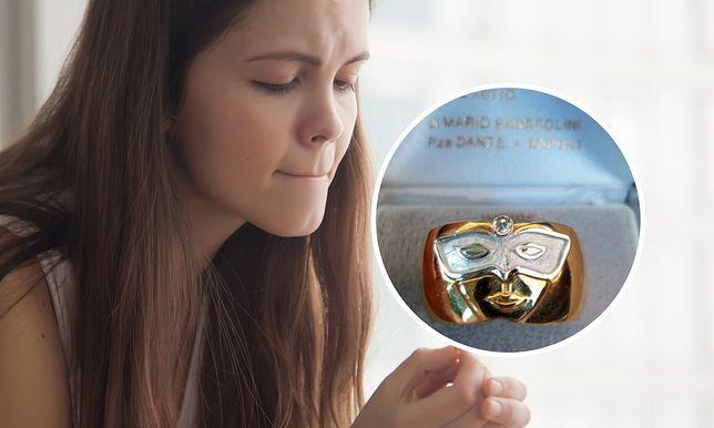 Panna młoda pokazała swój pierścionek zaręczynowy. Bardzo długo płakała, gdy go zobaczyła