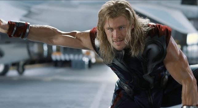 Chris Hemsworth jako Thor