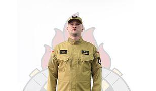 Tak będą wyglądały nowe stroje strażaków. Wybrano kolor piaskowy
