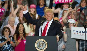 Trump: moje pierwsze 100 dni były ekscytujące i efektywne
