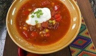 Gratka dla miłośników ostrych potraw. Zupa meksykańska według Ewy Wachowicz