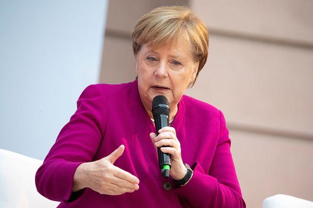 Angela Merkel przedstawiała w PE swoją wizję Europy.