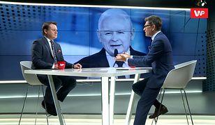 Dominik Tarczyński uderza w opozycję. Użył kontrowersyjnego porównania