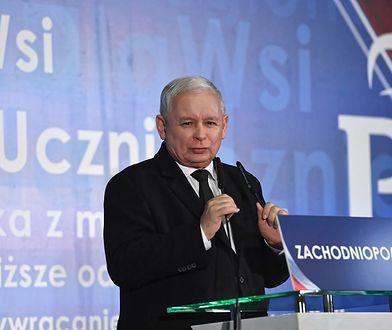 Jarosław Kaczyński przemawiał na konwencji PiS w Gdańsku