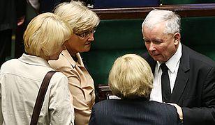 Kobiety u boku Kaczyńskiego