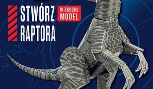 Jurassic World 2. Stwórz raptora. Książka młodego konstruktora