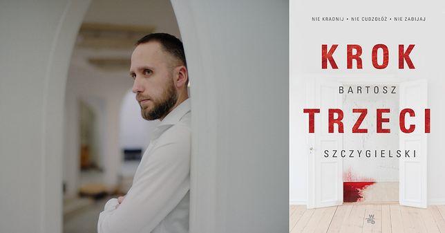 """Autorek książki """"Krok trzeci"""" jest Bartosz Szczygielski"""