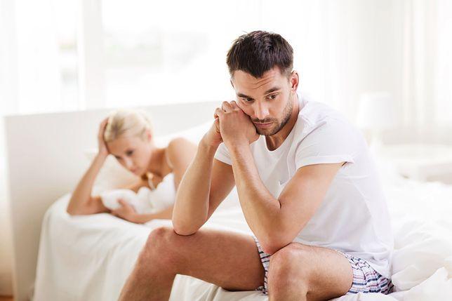 Zaburzenia erekcji często wiążą się ze stresem