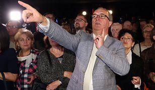 21 października 2018 roku. Wieczór wyborczy w sztabie SLD.