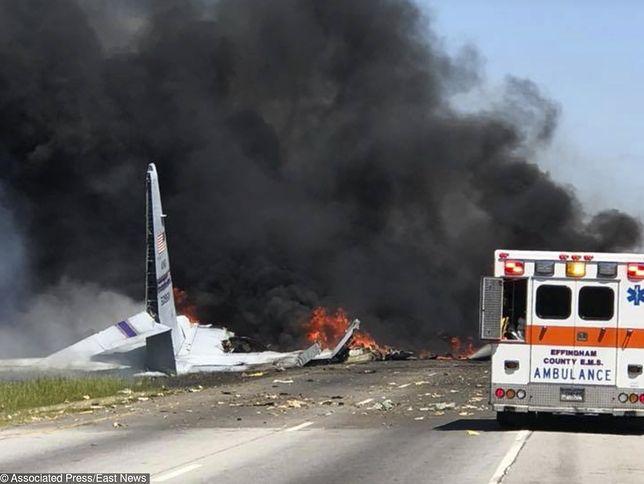 Nikt nie przeżył katastrofy samolotu w USA. Jest nagranie