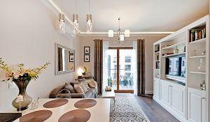 Wnętrza w stylu francuskim: elegancka nowoczesność