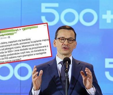 Po niemal 4 latach wypłacania pieniędzy w programie 500+, część Polaków nie ma pojęcia, że te środki pochodzą z ich podatków