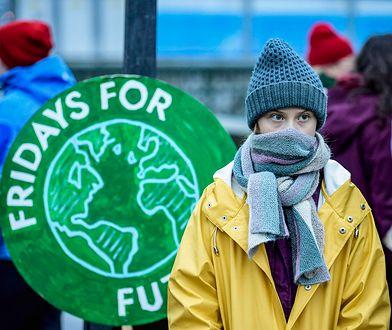 """Czołowa postacią """"Fridays for Future"""" jest Greta Thunberg"""