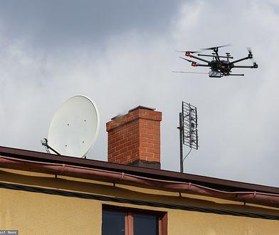 W ramach jednego z projektów Poznańskiego Budżetu Obywatelskiego zakupiono drona, który będzie sprawdzał skład dymu z kominów.