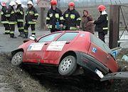 Pijany instruktor spowodował wypadek