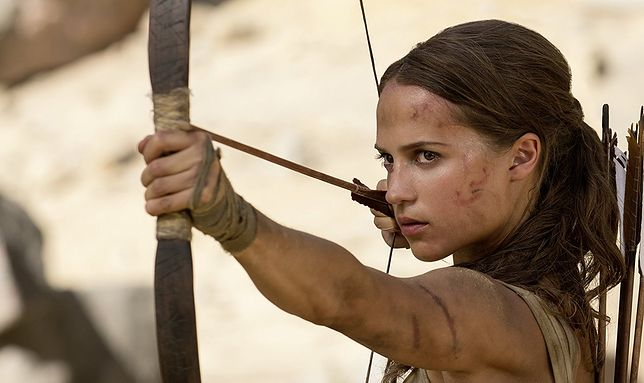 Nagrodzona Oscarem Alicia Vikander zagrała młodą Larę Croft
