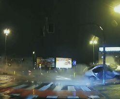 Kierowca volkswagena był naćpany i jechał bez prawka. Koszmarny wypadek