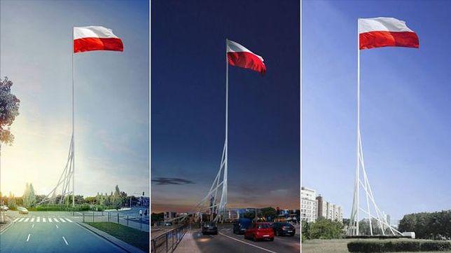 Flaga na Maszcie Wolności jeszcze przed 11 listopada!