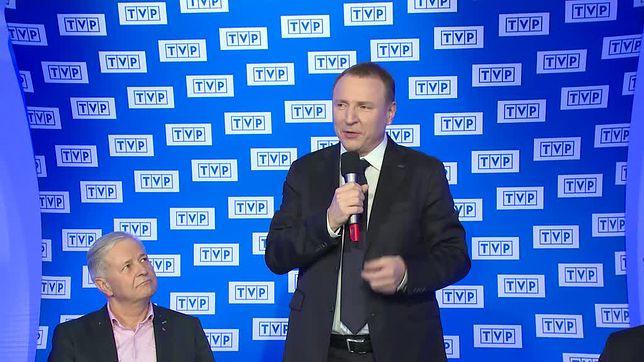 Jacek Kurski od 2016 r. jest prezesem zarządu Telewizji Polskiej