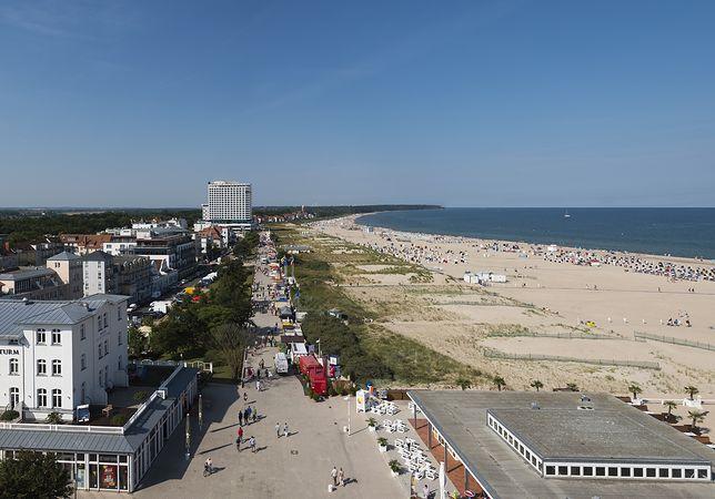Warnemünde - dzielnica miasta Rostock w Niemczech, w kraju związkowym Meklemburgia-Pomorze Przednie (zdjęcie ilustracyjne)