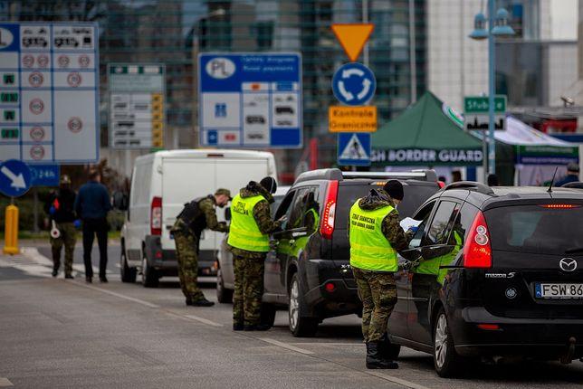 Granica z Niemcami jest oblegana przed świętami