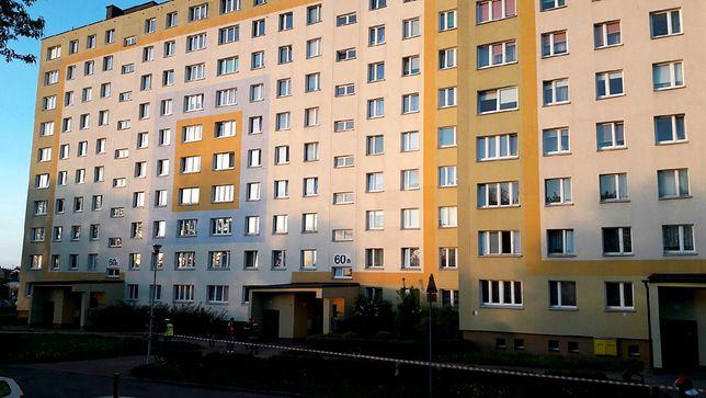 Bloki przy ul. Władysława IV w Koszalinie