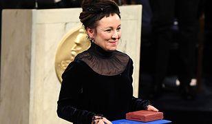 Olga Tokarczuk odebrała literacką nagrodę Nobla