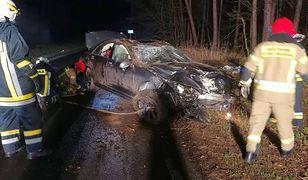 Tragiczny wypadek w Opolskiem. Pasażer i kierowca byli pijani