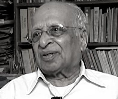 Miał 107 lat. Nie żyje profesor G. Venkatasubbaiah
