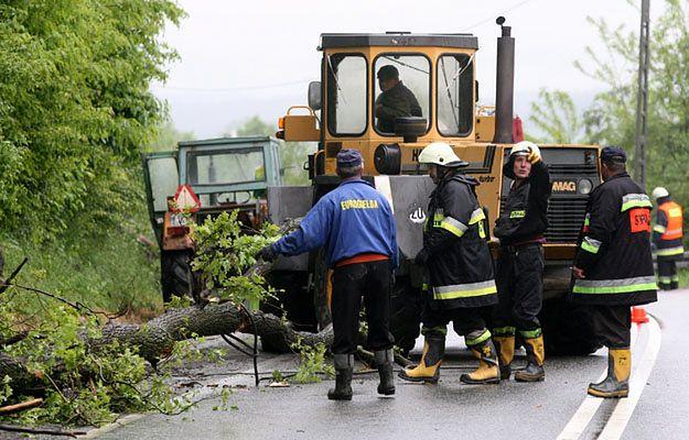 Małopolskie: Tymczasowo zamknięto drogę wojewódzką nr 981 w Kąclowej