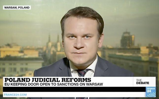Dominik Tarczyński regularnie gości w największych stacjach telewizyjnych