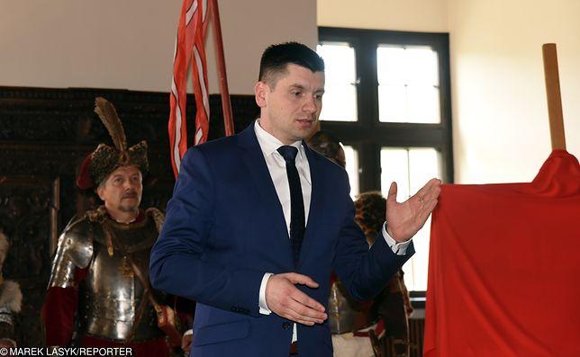 Szef gabinetu politycznego w resorcie infrastruktury Łukasz Smółka