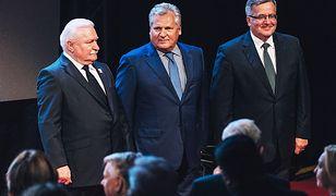 Byli prezydenci: Lech Wałęsa, Aleksander Kwaśniewski i Bronisław Komorowski podpisali się pod listem do KE