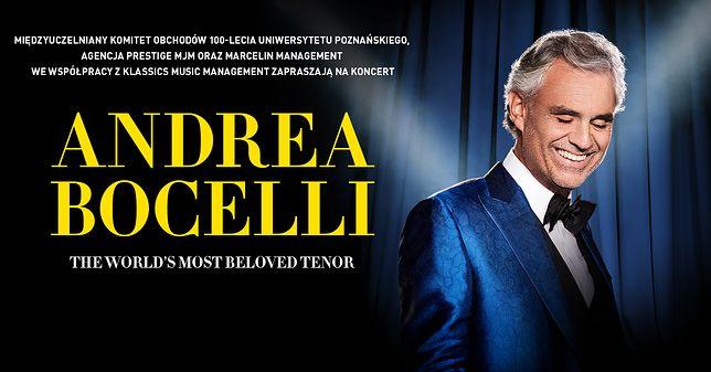 Bocelli w Poznaniu. Wielki koncert na stulecie Uniwersytetu Poznańskiego