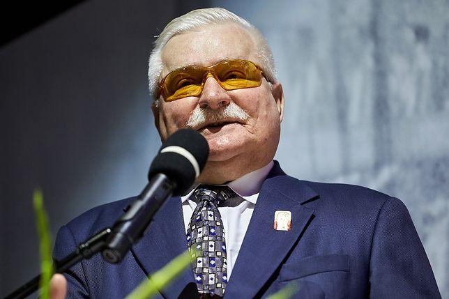 """Lech Wałęsa chwali Trumpa. Przepowiada, że prezydent USA """"może być wielki"""""""