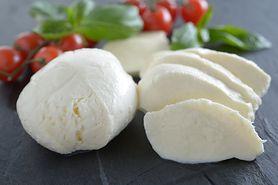 Mozzarella bez zawartości tłuszczu