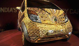 Auto ze złota
