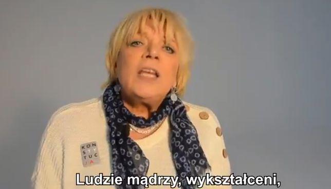 Dorota Stalińska chce, by za reprezentantów kraju w PE nie trzeba było się wstydzić