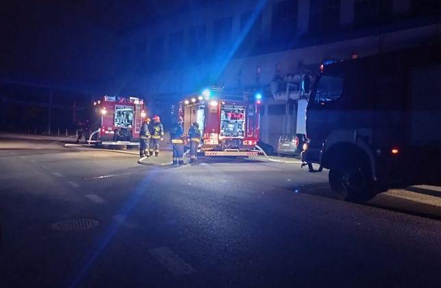 Śląskie. Ugaszono pożar, do jakiego doszło w elektrociepłowni w Jastrzębiu-Zdroju.