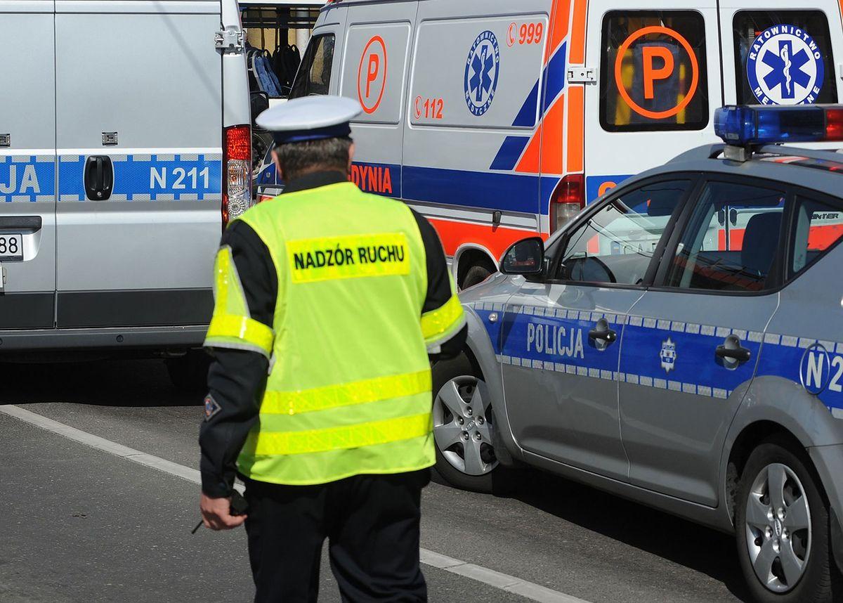 Gdańsk. Kobieta z dzieckiem potrącona przez autobus na pasach