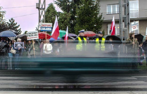 """Gmina Mogilany - zakopianka czy """"zabijanka""""? Mieszkańcy proszą o pomoc"""