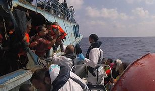 Uratowali ponad 6 tysięcy uchodźców u wybrzeży Libii