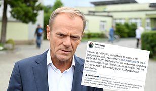 Donald Tusk krytykuje Polskę i Węgry. Budapeszt odpowiada