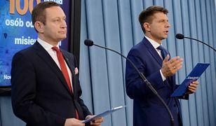 Paweł Rabiej i Ryszard Petru