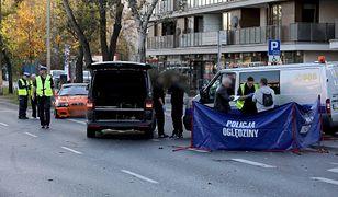 Warszawa. Wypadek na Bielanach. Wiemy z jaką prędkością jechał kierowca bmw