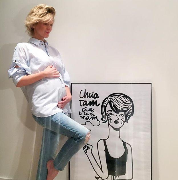 Magda Mołek w czerwcu urodziła drugie dziecko
