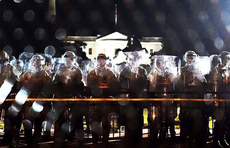 Atak na Waszyngton? Wojsko jedzie do stolicy USA